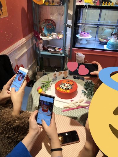 nctdream チョンロの誕生日ケーキの画像