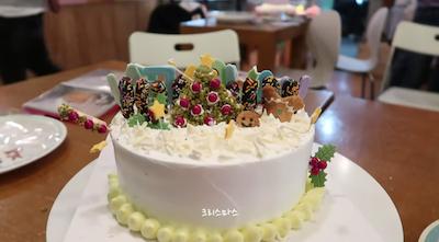 nctdreamの作ったケーキ
