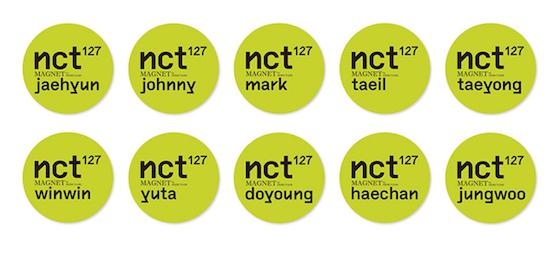 nct127 コースター
