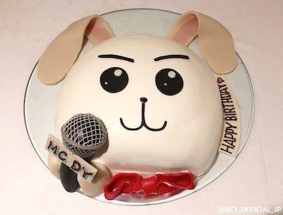 nct127 ドヨンの誕生日ケーキ