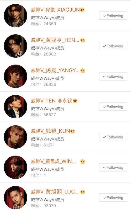 WayV メンバーたちの画像