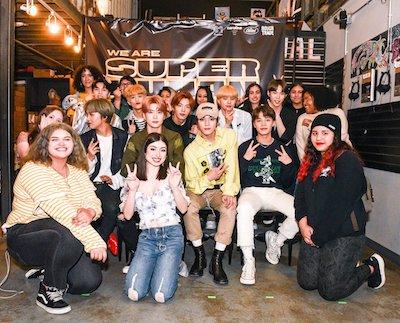 nct127 メンバーとファンたち