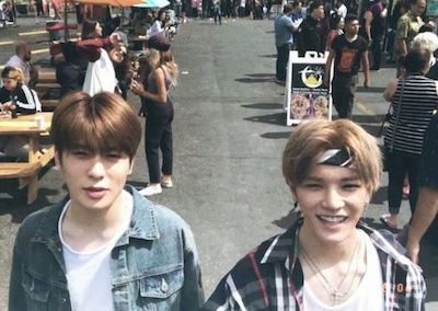 nct127 ジェヒョンとテヨンの画像