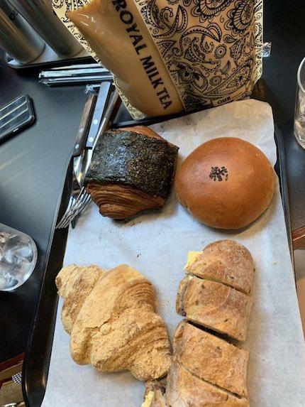 nct127 テヨンの選んだパンの画像