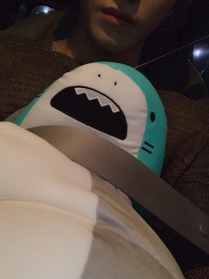 nct127 テヨンのサメのヌイグルミの画像