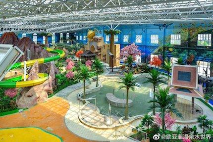 中国 プール
