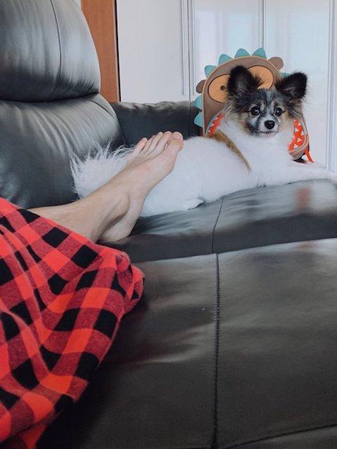 nct127 テヨンの足とルビー画像