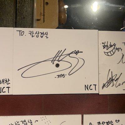 nct127 メンバー サイン