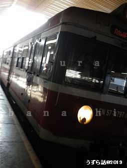 ポーランド クラクフ中央駅の電車