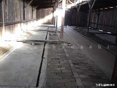 ビルケナウ収容所の内部