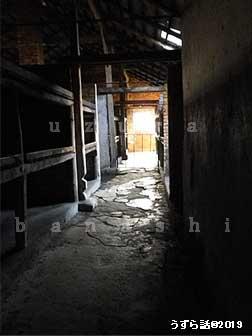 ビルケナウのバラック内部