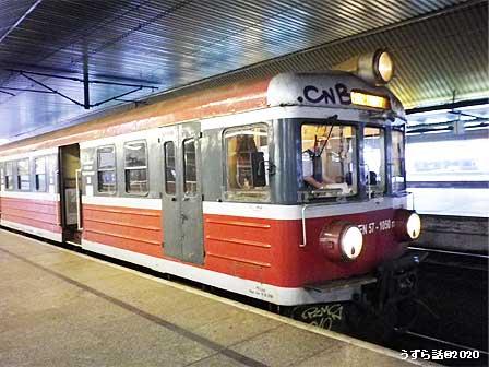 ポーランドの電車