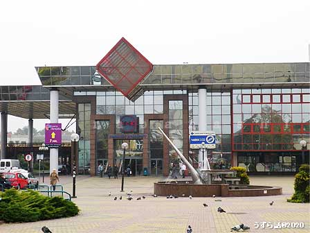 ポーランドのチェンストホヴァ駅