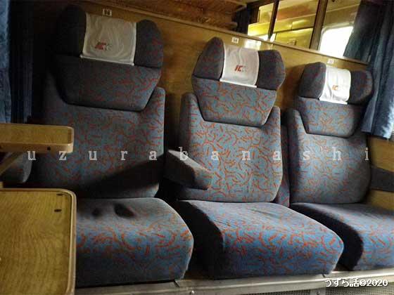 ポーランド電車  一等席