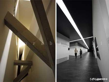 出口へ行く廊下