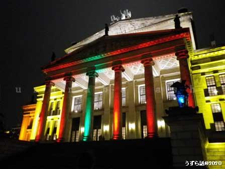 ジャンダルメン広場の国家歌劇場