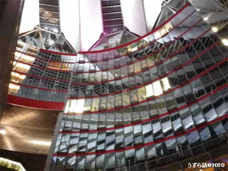 ソニーセンター壁面