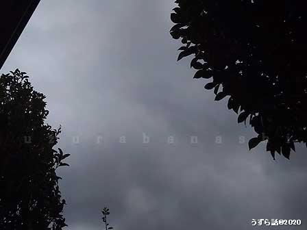 台風の接近
