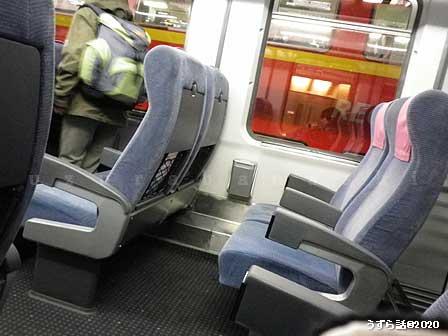 ICEの座席