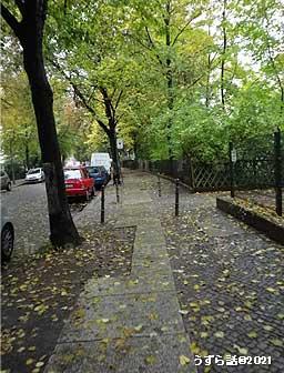 ベルリンの歩道