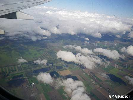 オランダ上空