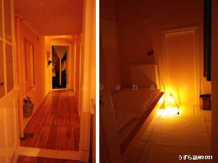 廊下&謎の小部屋