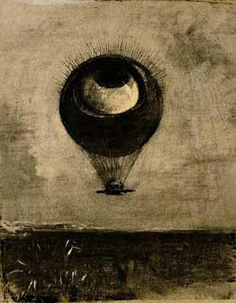 ルドン  眼=気球