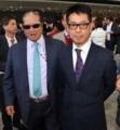2013年3月27日香港の競馬場でサモ・ハン洪金寶と [ユンピョウ]
