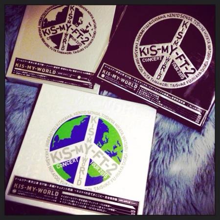 2015 CONCERT TOUR KIS-MY-WORLD...