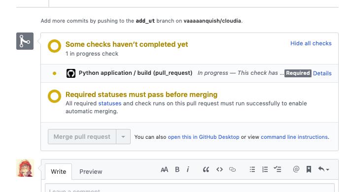 PRからGitHub Actionsのbuildタスクを確認