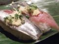 9月13日の夕食(御徒町・かっぱ寿司)