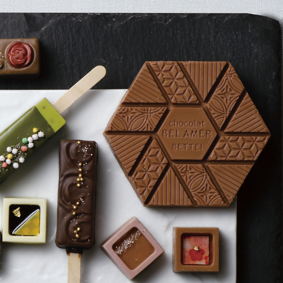 ベルアメール 京都別邸 日本酒チョコレート