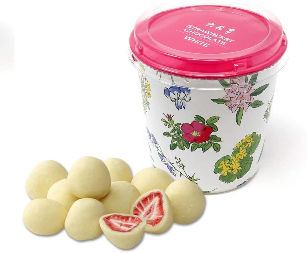 六花亭 バレンタイン ストロベリーチョコ ホワイト