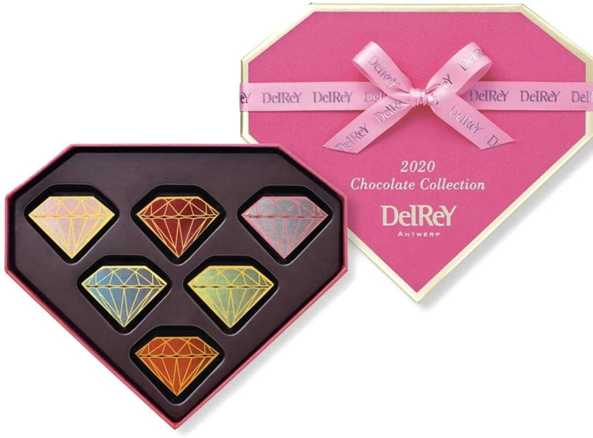 デルレイ チョコレート ダイヤモンドBOX