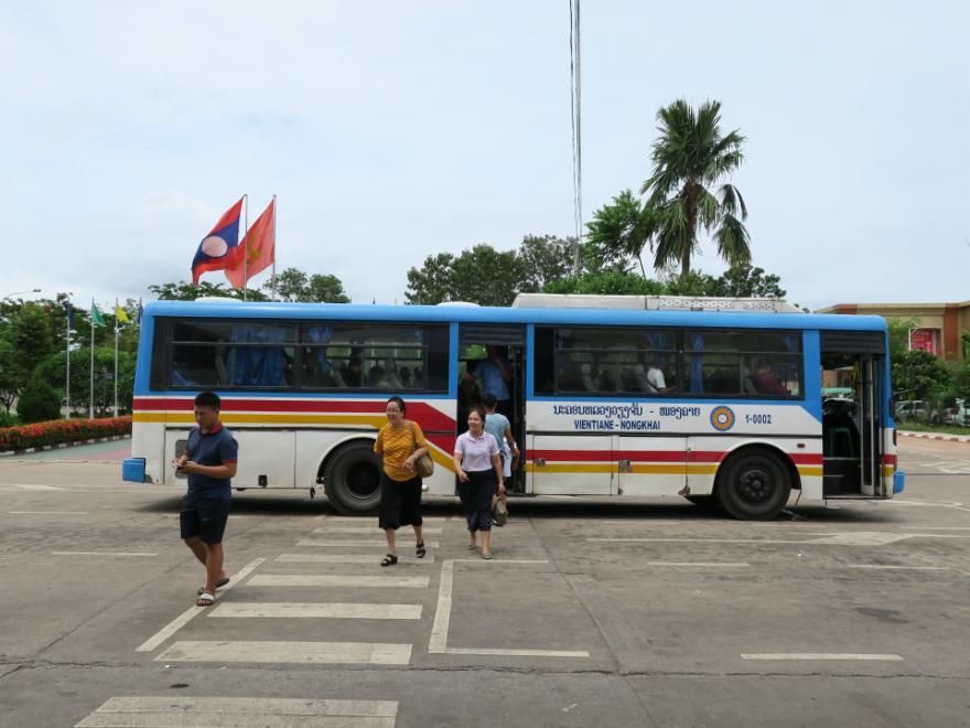 ラオスからタイへ ビエンチャンからノンカイへ陸路で移動する方法まとめ