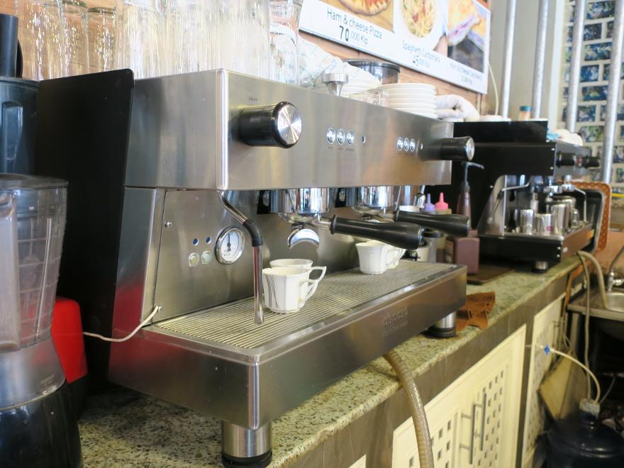 バンビエンのカフェ、コーヒー・プリンス(Coffee Prince)