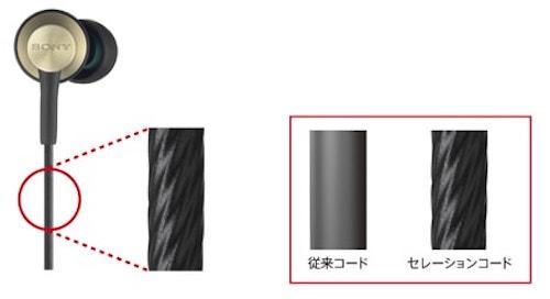 SONY MDR-EX650絡まらない