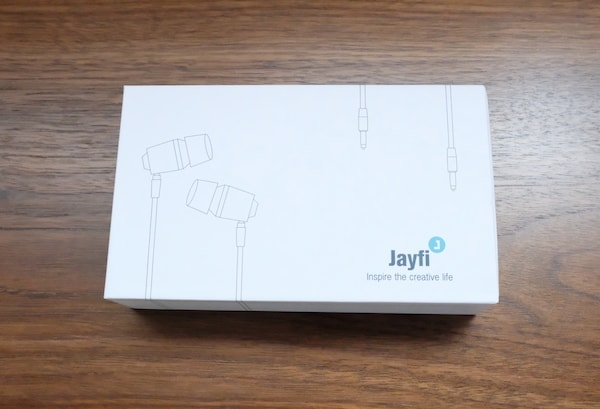 Jayfi JA40 カナル型イヤホン外箱