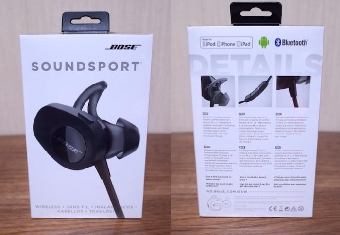 Bose SoundSport wireless headphonesレビュー