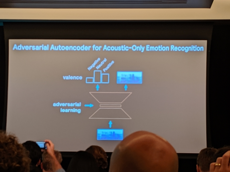 Adversarial Autoencoder for Acoustic-Only Emotion Recognition
