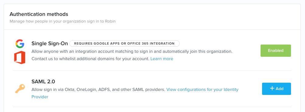 Robin_SAMLの有効化