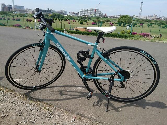 ビアンキ クロス バイク