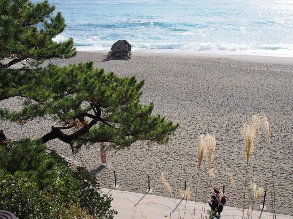 高知県の桂浜の景色