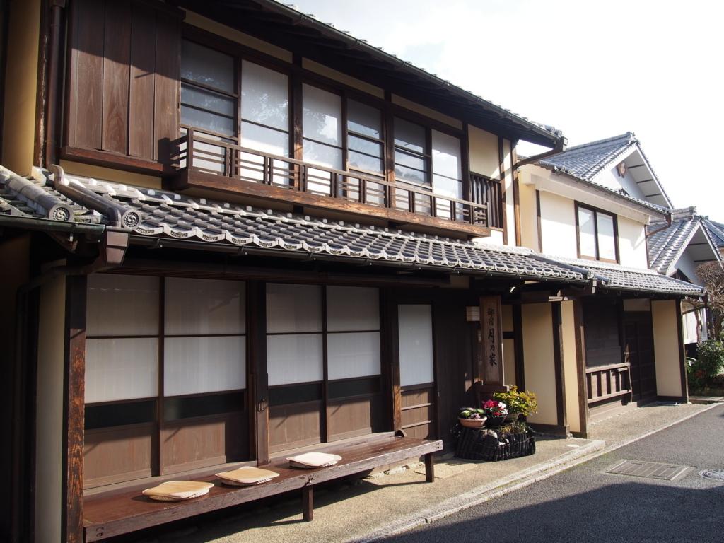 愛知県内子町の街並み