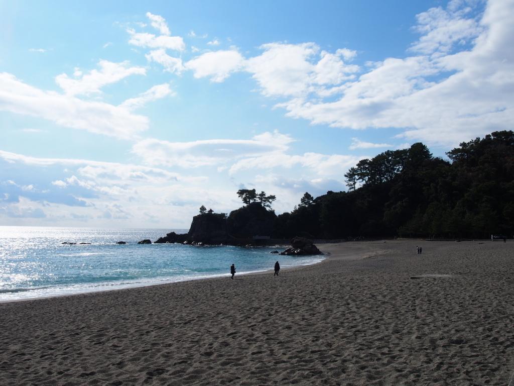 高知県桂ヶ浜の景色