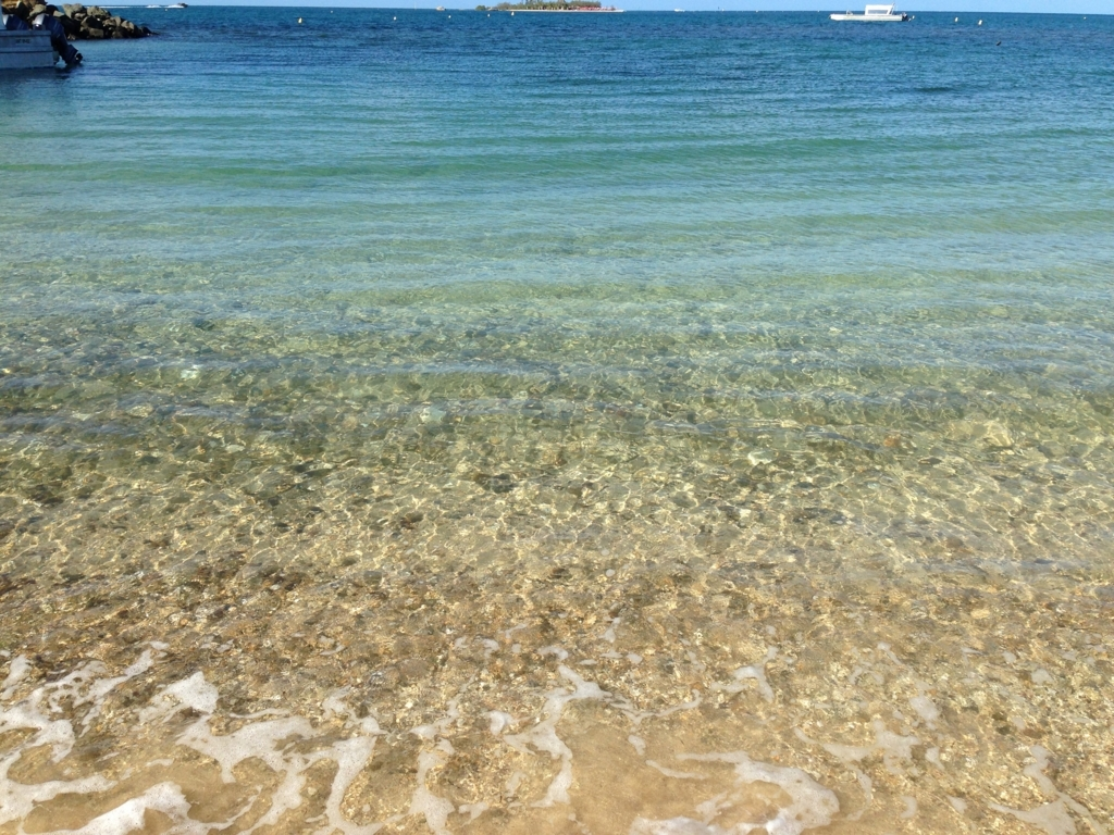 ニューカレドニアの海