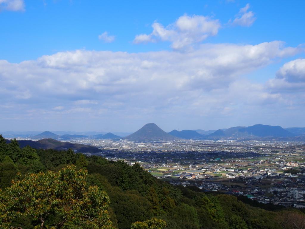 金毘羅山頂上からの景色