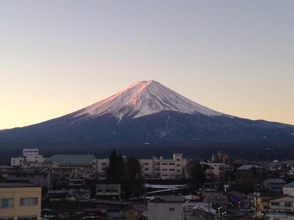 神奈川県箱根から見た富士山