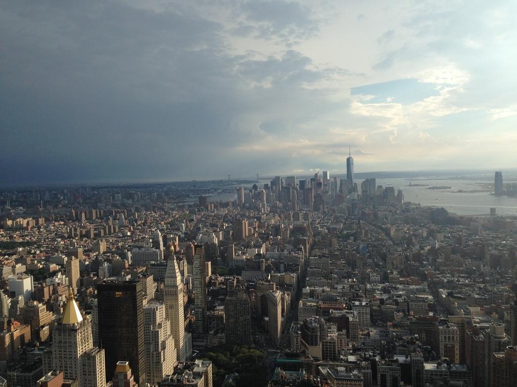 アメリカニューヨークエンパイアステートビルからの景色