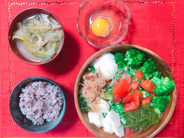 フルーツダイエット中のある日の夕食メニュー②